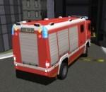لعبه ركن سياره الإطفاء