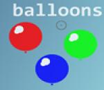 العاب اطلاق النار على البالونات
