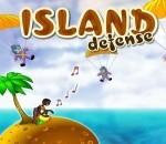 لعبه الدفاع عن الجزيرة