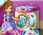 لعبة صوفيا وغسيل الملابس