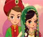 العاب تلبيس المهراجا والبنت الهندية